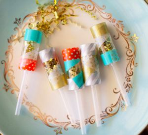 how to make party poppers that pop