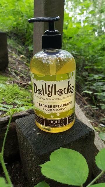 Dollylocks - Liquid Dreadlocks Shampoo - Tea Tree Spearmint (12oz/355ml)