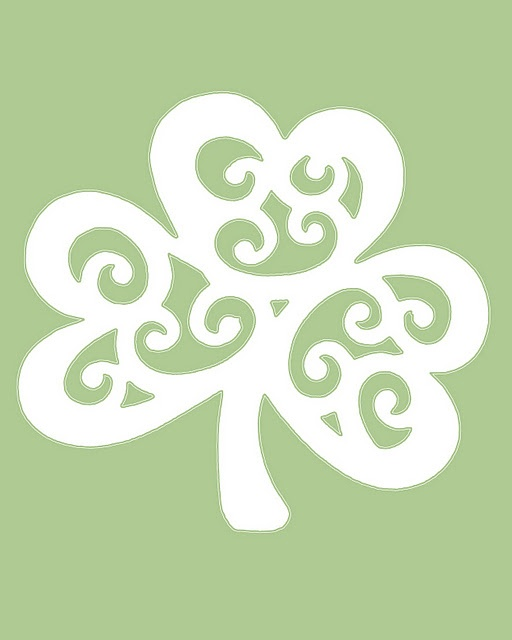st pattys printables