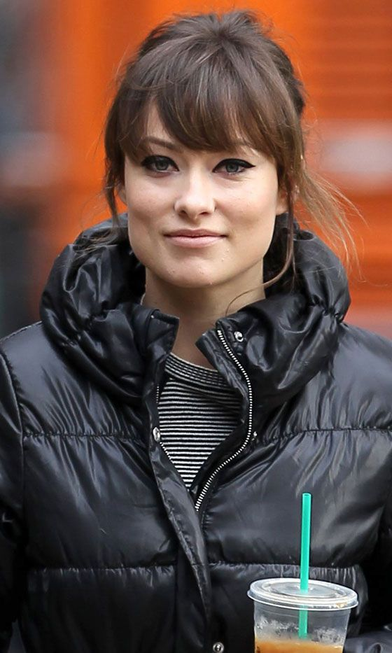 Olivia Wilde's Hairstyle Is A Bit '60s Here - Love The Light Fringe. 2011