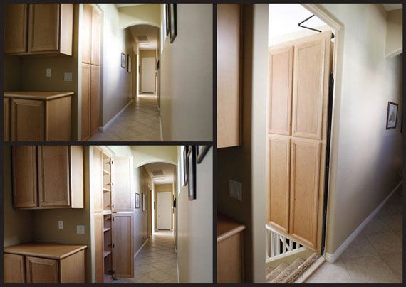 Hidden doors and secret passages ideas decor living for Hidden door ideas
