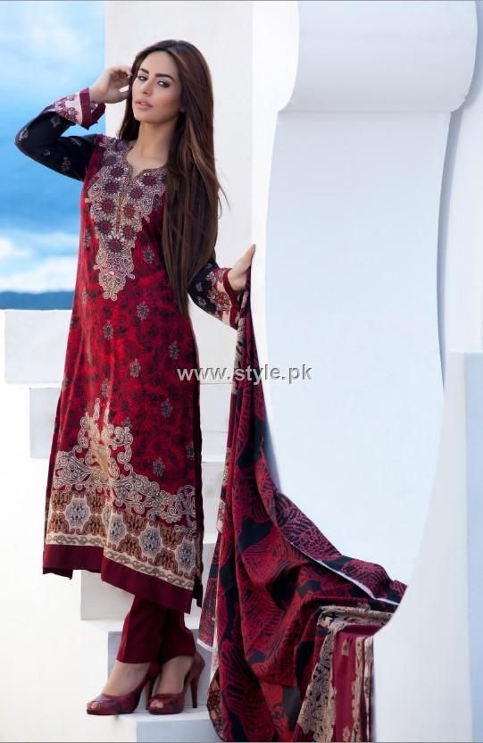 Firdous Paris Linen 2012 New Arrivals for Women Pictures