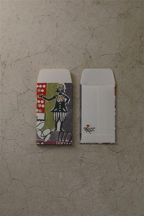 倉敷意匠 ぽち袋 M 5枚セット(奇術師)