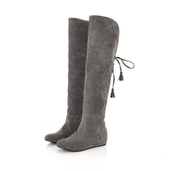Knee-High boots always be the girls favorite, it's very sexy to wear, make your leg longer and thinner. Come and buy this boots, you will love it. Gender: Women's Category: Boots Occasion: Casual,Club