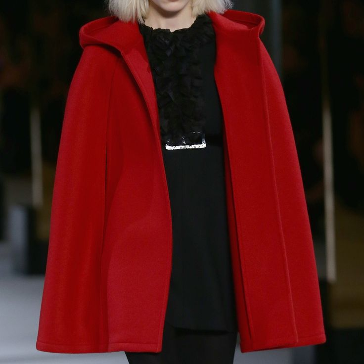 Red cape coat - Easy ways to wear Autumn fashion trends - Style Advice   Good Housekeeping