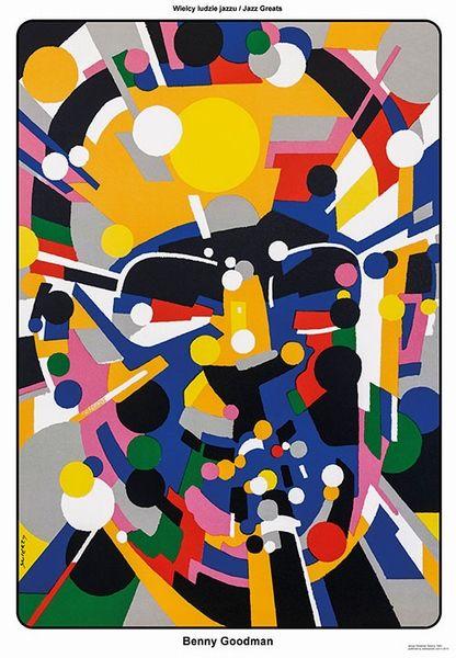 Benny Goodman - Jazz Greats Benny Goodman - Wielcy ludzie jazzu Swierzy Waldemar Polish Poster