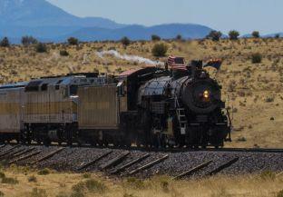 On my #USbucketlist - The Grand Canyon! Why not add to it my taking a train too. Grand Canyon Railway & Hotel, Arizona