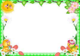 Resultado de imagem para moldura de flores coloridas