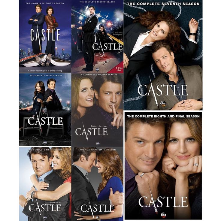 Castle Seasons 1-8 Set on DVD