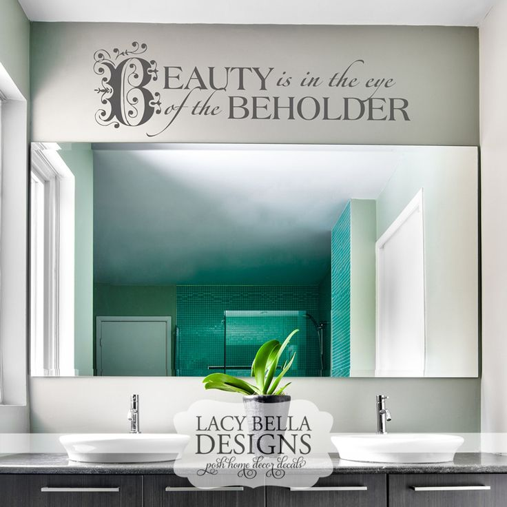 images about Bathroom Decals on Pinterest Wash