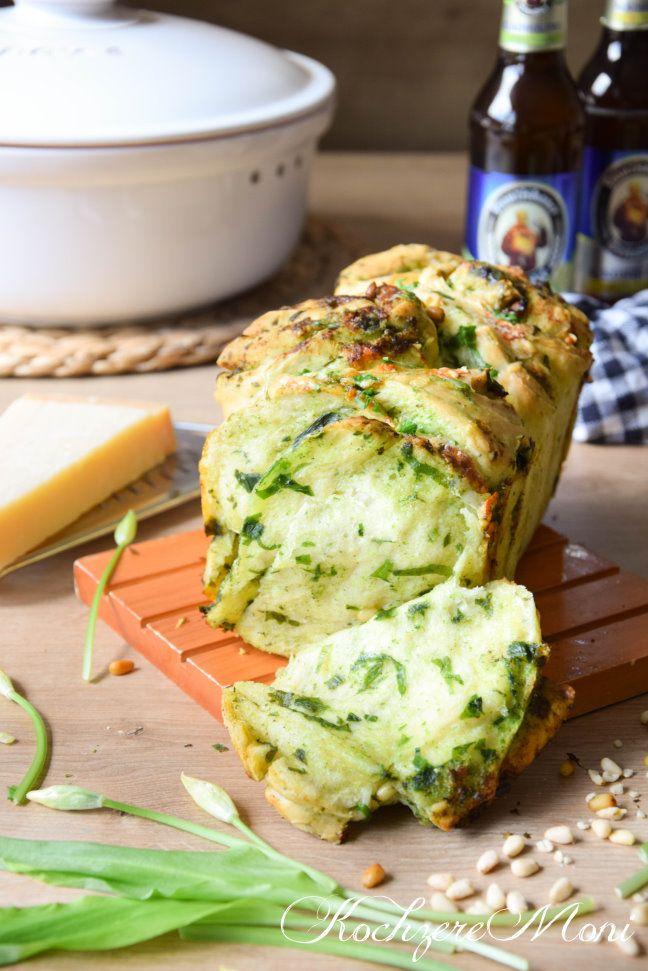 Bärlauch Faltenbrot mit Käse³