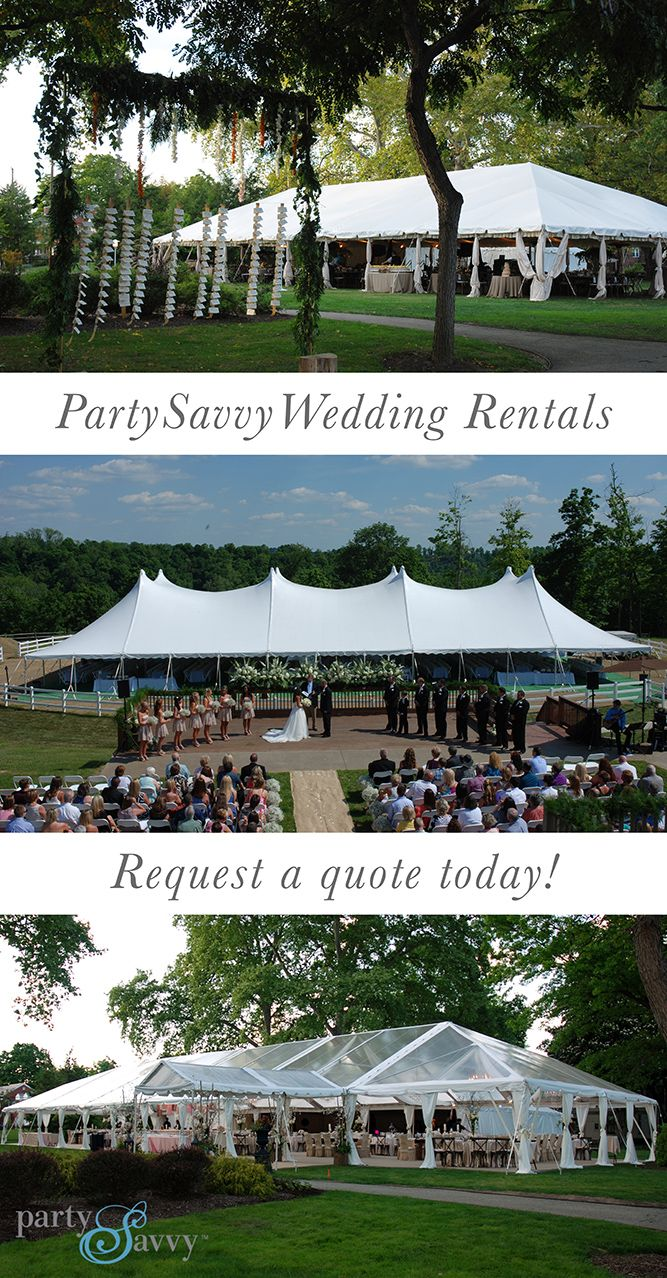 Whether you're looking for a picture-perfect tent rental, creative seating solutions, coordinated table settings or a beautiful dance floor, PartySavvy event rentals will bring your vision to life. Serving the Pittsburgh region since 1970. Request your quote online today.