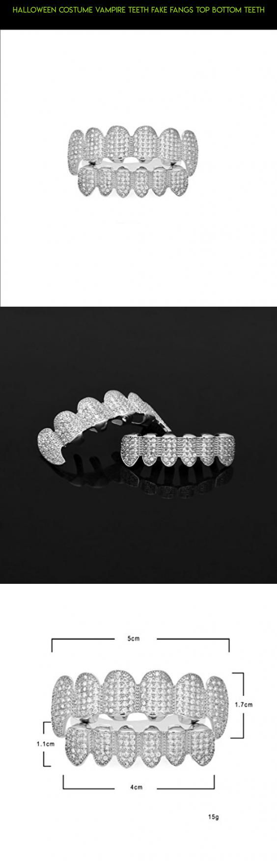 Halloween Costume Vampire Teeth Fake Fangs Top Bottom Teeth #tech #parts #shopping #camera #dripping #products #plans #technology #grills #fpv #kit #drone #gadgets #racing