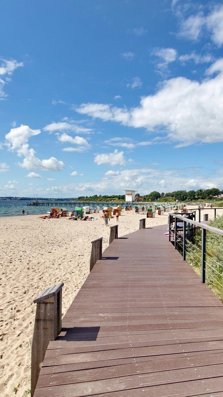 Holzweg Am Strand Von Pelzerhacken Lubecker Bucht Sonne Sand Wasser Urlaub Nordsee Urlaub Reisen