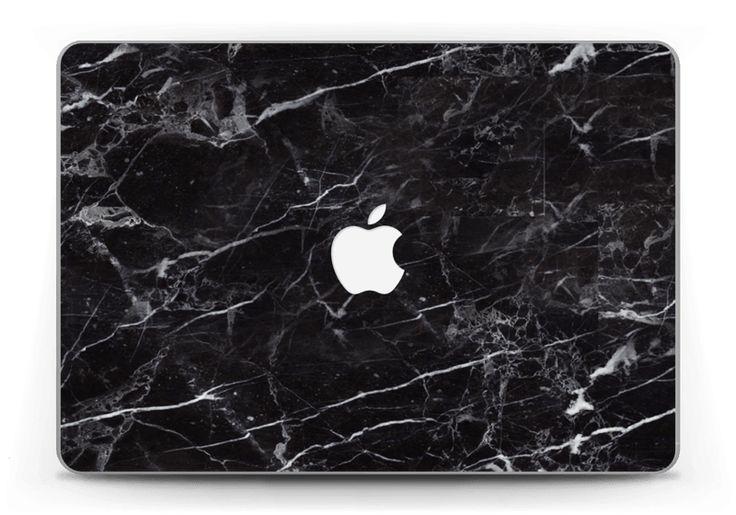 Svart marmordesign