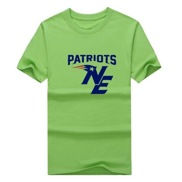 2017 new fashion New England tom Brady funny logo T-shirt Patriots T Shirt 0119-16