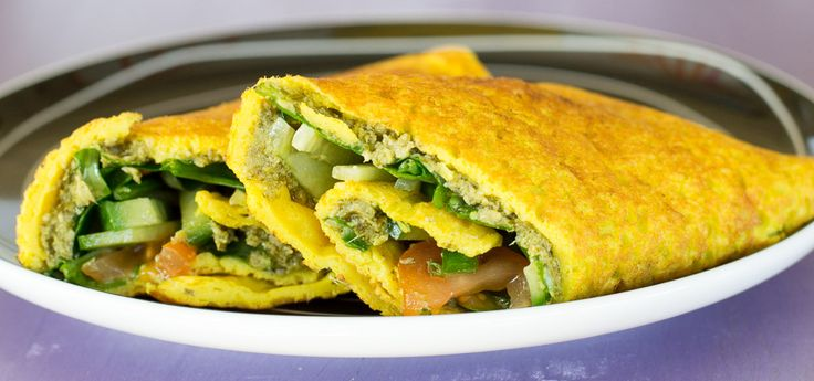 Vegan Omelette with Silken Tofu Recipe - Planet Veggie