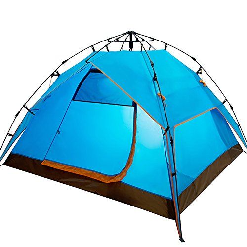 Generic UV Protection Camping 3 Person Tent Color Blue *** Check this awesome product by going to the link at the image.