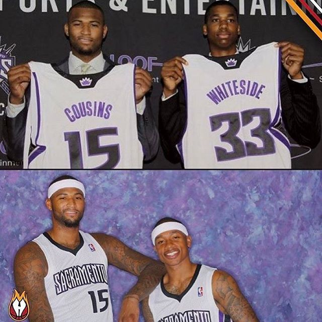"""36.3k Likes, 526 Comments - Sports Highlights (@sportshighlights) on Instagram: """"At one point, the Kings had Demarcus Cousins, Isaiah Thomas, & Hassan Whiteside.."""""""