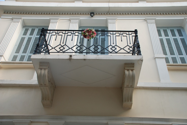 balcony in Metaxourgeio