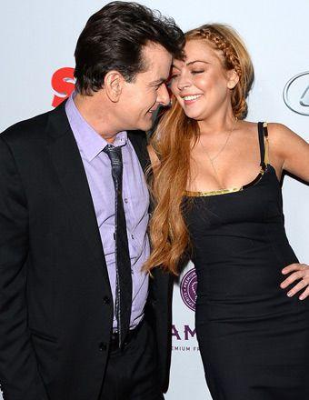 Charlie Sheen Offers Lindsay Lohan a Job on Anger Management