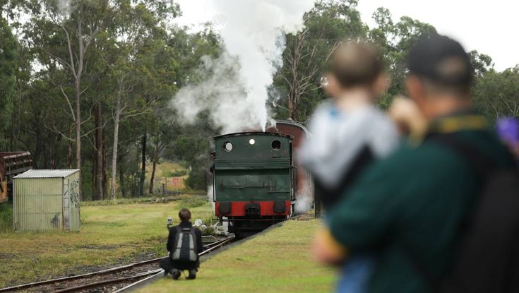 A restored World War I locomotive has been unveiled at Richmond Vale Railway Museum.