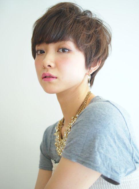 エアリーマッシュショート 【BEAUTRIUM 265】 http://beautynavi.woman.excite.co.jp/salon/25947?pint ≪ #shorthair #shortstyle #shorthairstyle #hairstyle・ショート・ヘアスタイル・髪形・髪型≫