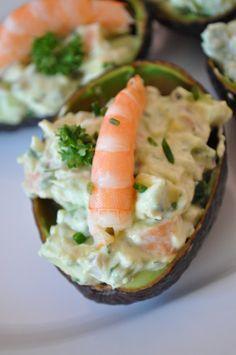 Salade fraicheur avocat crevette - Blog cuisine avec du chocolat ou Thermomix…