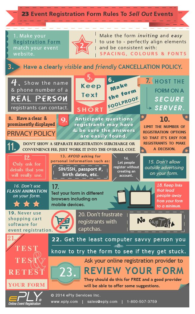 23 Event registration rules to sell out events EventRegRules_Infographic_Final_Blog