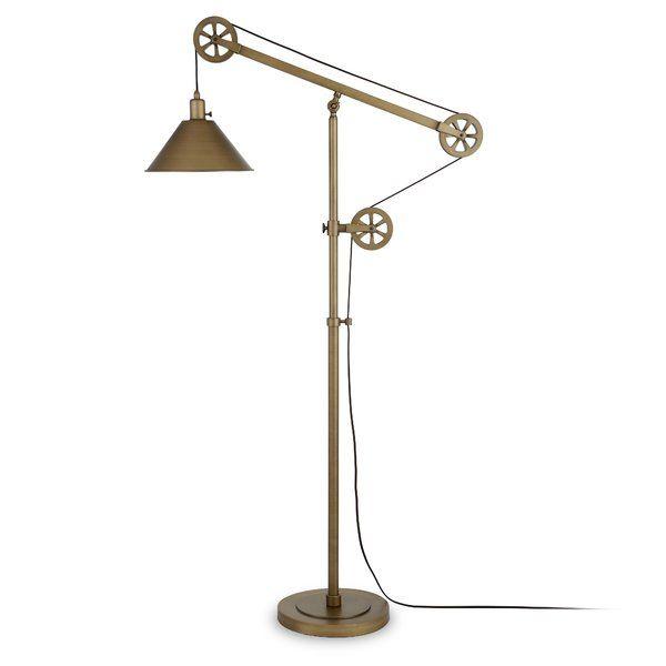 Carlisle 70 Task Reading Floor Lamp Floor Lamp Brass Floor