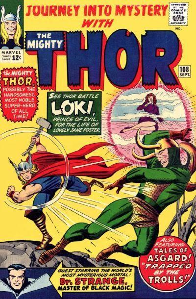 Journey Into Mystery #108. Thor vs Loki