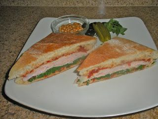 Chef JD's Street Food: Tacchino Panini with Balsamic Sun Dried Tomato Pes...