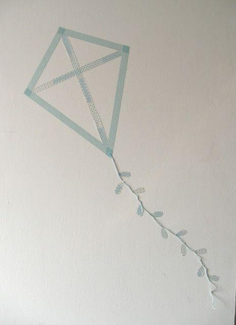 cerf volant masking tape
