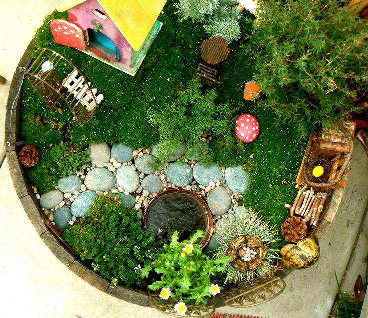the ubiquitous faerie garden, of course