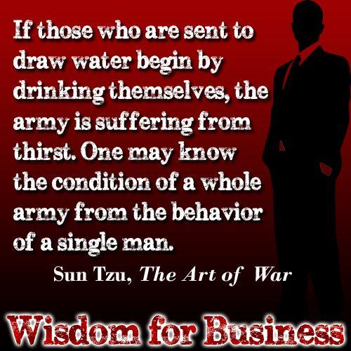 sun tzu and business planning