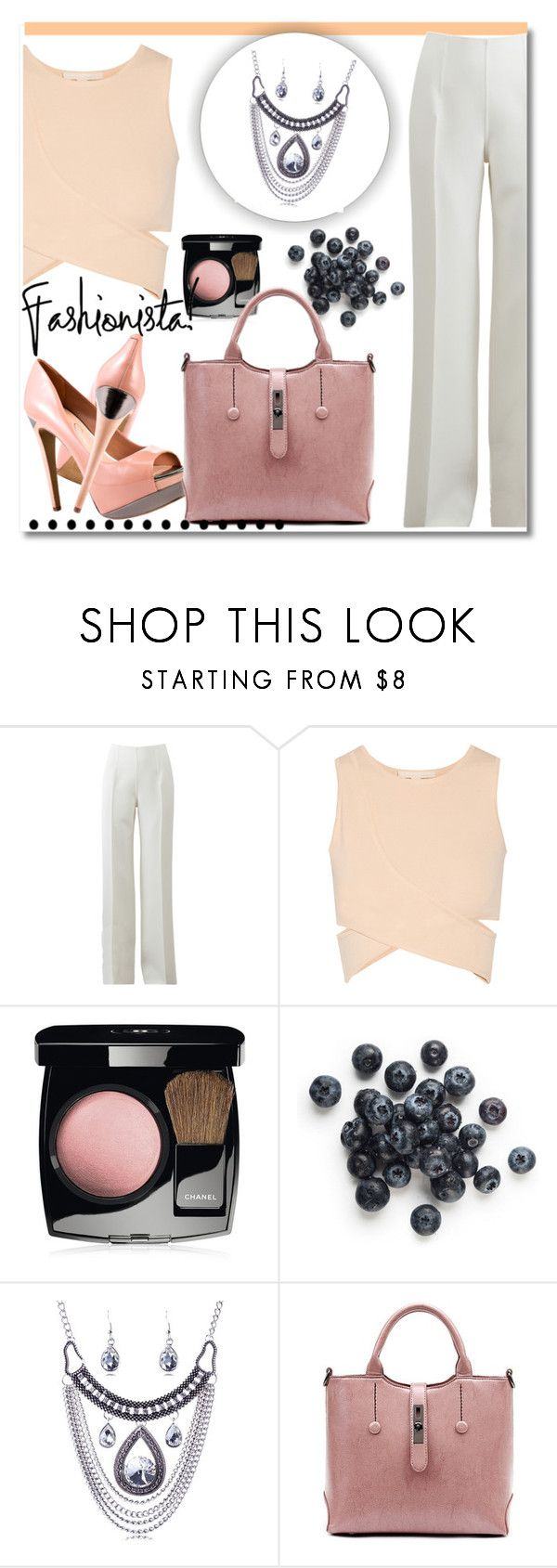 """""""#3"""" by aida-nurkovic ❤ liked on Polyvore featuring Michael Kors, Jonathan Simkhai, Chanel and Jessica Simpson"""