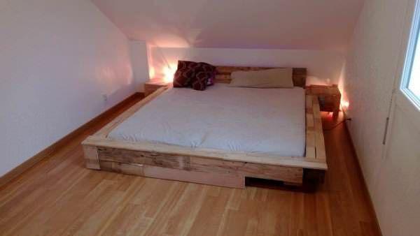 Pallet Bed Frame Beds