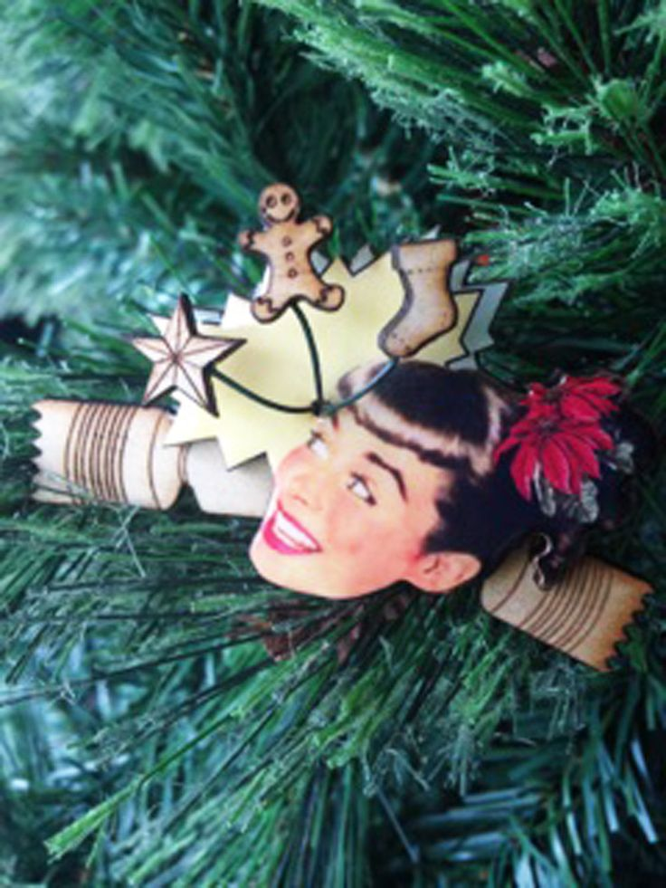 Cracker Jill brooch by LadyABroad on Etsy