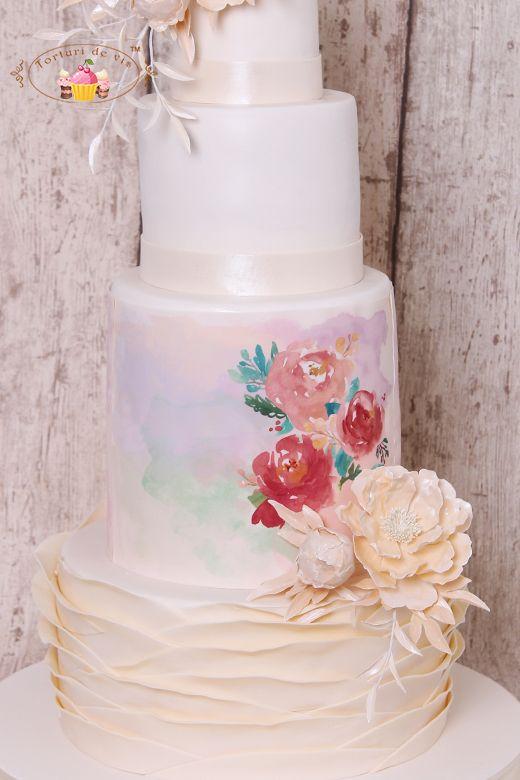 Wedding cake - printed