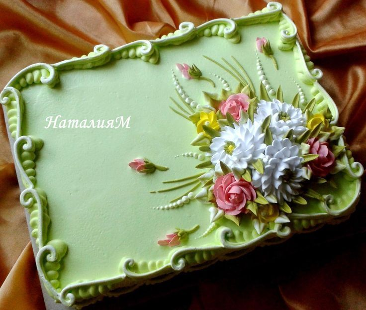 cake design rectangle caramell cake  Rectangle cake, Sheet cake designs, Cake designs