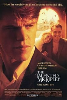 The Talented Mr. Ripley (1998) Matt Damon, Jude Law, Gwyneth Paltrow, Philip Seymour Hoffman