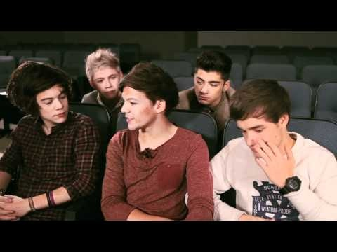 "One Direction Interview (VEVO LIFT)    -Kelly Clarkson helped write ""Tell Me a Lie""    -Liam and Niall roomed together during the X Factor    -Liam and Zayn met at McDonalds"