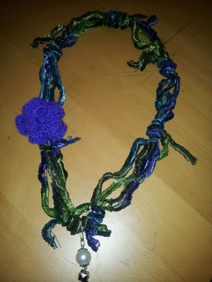 50 best trellis yarn necklace images on pinterest yarn necklace