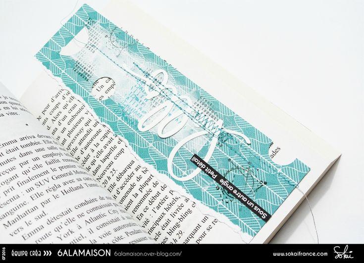 Marque-page de 6àlamaison pour Sokai