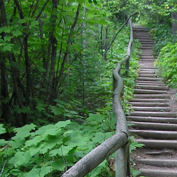 Guide to a full range of north shore hiking trails, from a quick 1-mile loop to the full Superior Hiking Trail; maps, descriptions and highlights, too!