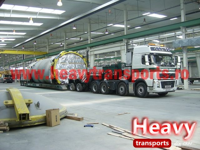 Transport agabaritic international & intern - Heavy Transports