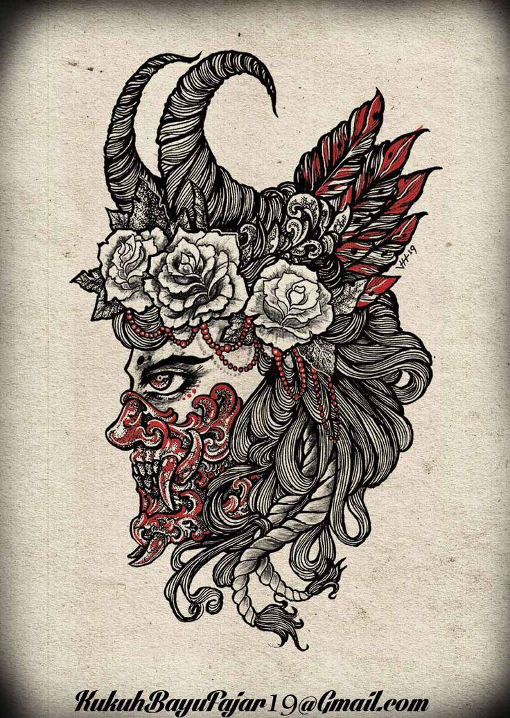 Hana   japanesse mask