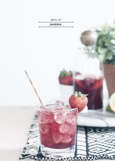 Got the whole thirty blues? Here's a yummy whole 30 approved sangria for your summer!