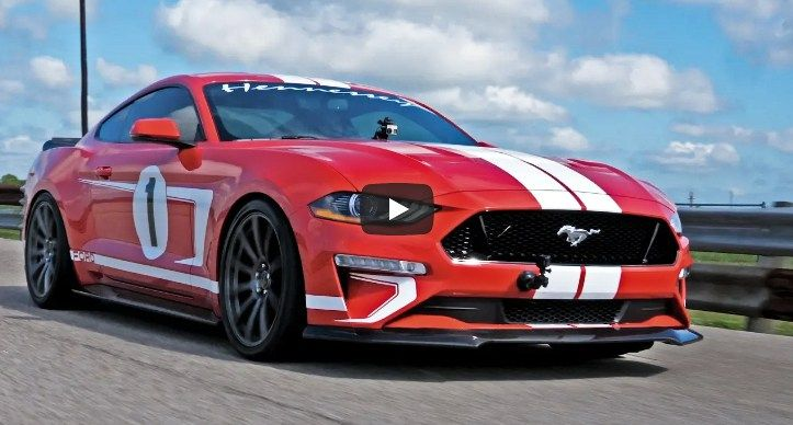 Test Driving The 2019 Hennessey Heritage Mustang Ford Mustang