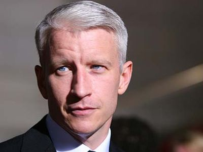 Anderson Cooper, host of CNN's Anderson Cooper 360